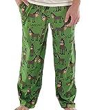 Lazy One 0841654101862 LazyOne Unisex Lazy Ass Pyjamas Trousers Adult Small Green