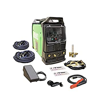 2021 Everlast PowerTIG 210EXT 210amp Ac Dc Tig Stick Advance Pulse Welder 110/220 Volt Inverter-based IGBT Technology
