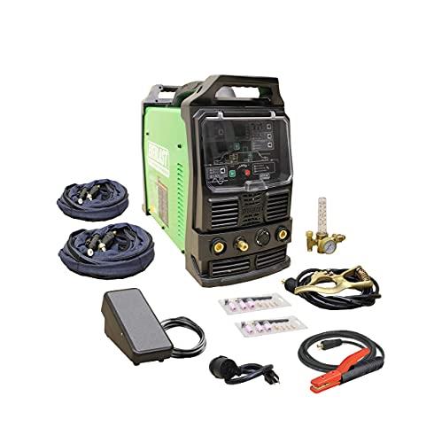 2021 Everlast PowerTIG 210EXT 210amp Ac Dc Tig Stick Advance Pulse...