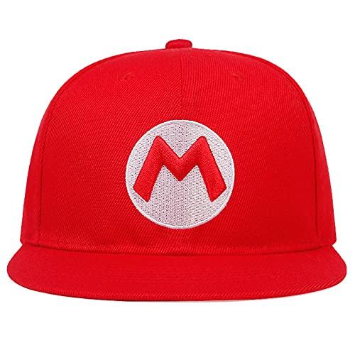Hat Venta al por mayor de Mario bordado de costura gorra de...