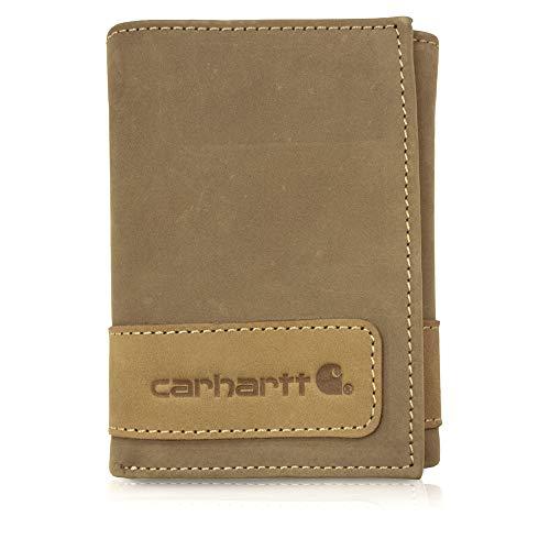 Carhartt Herren-Geldbörse, zweifarbig, Braun, Einheitsgröße