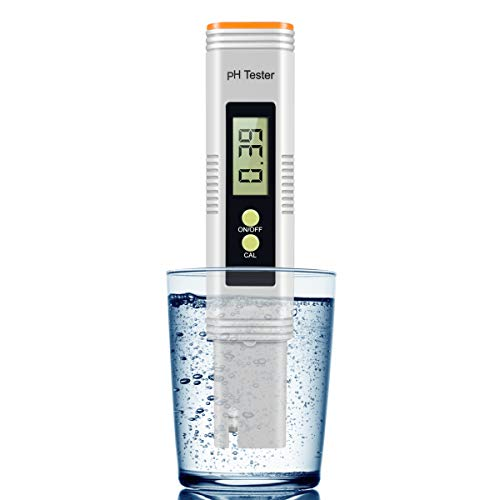 Digital PH Meter PH Meter 001 PH High Accuracy Water Quality Tester with 0-14 PH Measurement Range for Household Drinking Pool and Aquarium Water PH Tester Design with ATC Product Name