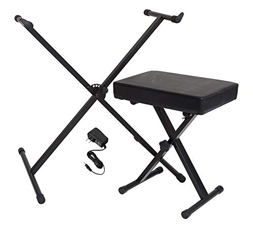 Buy Bargain Yamaha Portable Keyboard Accessory Pack with Stand, Bench and Power Supply