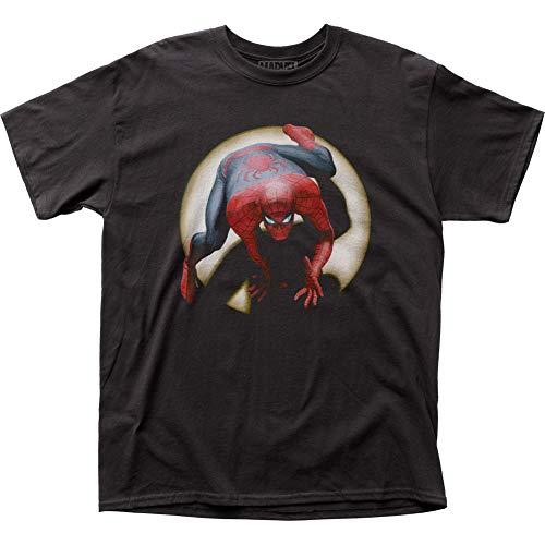 Camiseta adulto Homem-Aranha Alex Ross Spidey, Preto, M