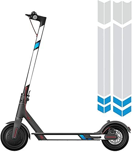 XunHe Pegatinas reflectantes para scooter, advertencia fluorescente, impermeable, decorativas, para bicicleta de montaña, bicicleta de carretera, bicicleta eléctrica