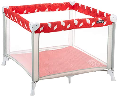 Safety 1st Circus Parc/Lit de Voyage Compact Red Campus 2508827000