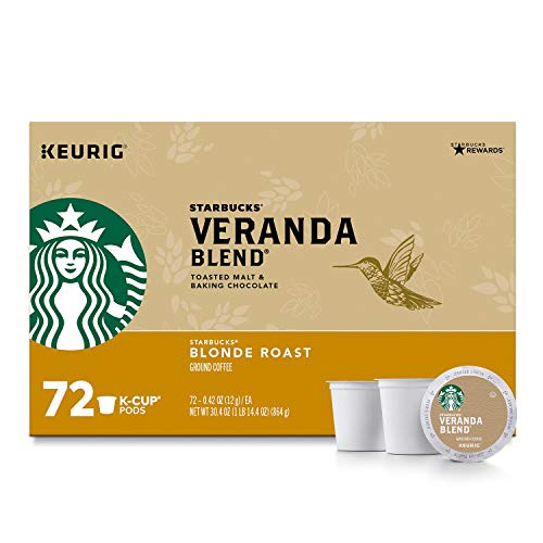 Starbucks Veranda Blend Ground Coffee, Blonde...