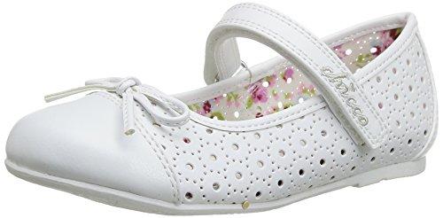 Chicco Ballerina Caren 01051506000000 – schoenen voor dames, kleur wit, maat 25 25 EU Blanco (Bianco (300))