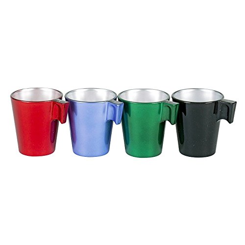 Luminarc Flashy Expresso Aroma Handled Coffee Glass 8cl X4