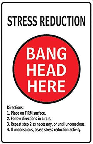 TIEMZ Cuidado con la Placa del Conejo Carteles de Chapa de Metal Vintage Home Bar Pub Placas de Metal Decorativas Rata Etiqueta de la Pared Cartel de Arte de Hierro 7.87x11.8 Pulgadas T
