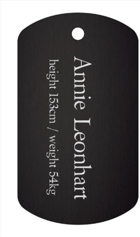 Attack on Titan aluminum dog tag Ani (japan import)