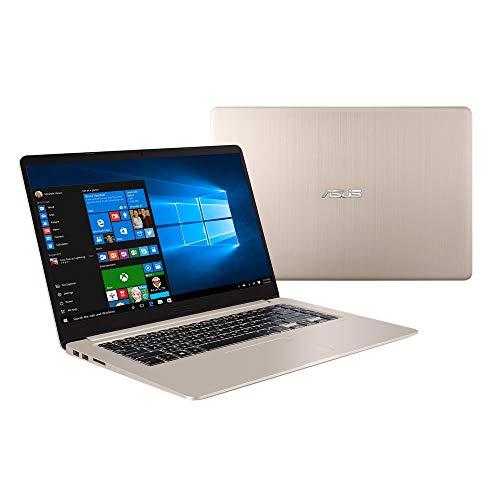 ASUS VivoBook S510UQ-BQ482T Nero, Oro Computer portatile 39,6 cm (15.6') 1920 x 1080 Pixel 1,80 GHz Intel Core i7 di ottava generazione i7-8550U