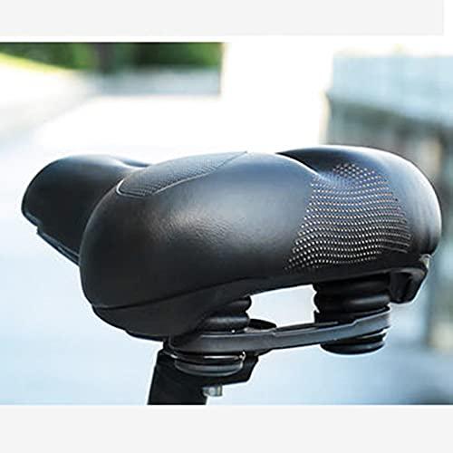 Fahrradsattel ergonomischer bequemer Cityrad Sattel Fahrradsitz weiche und breite Fahrrad Sattelstützen universal für alle Fahrräder MTB Damen & Herren