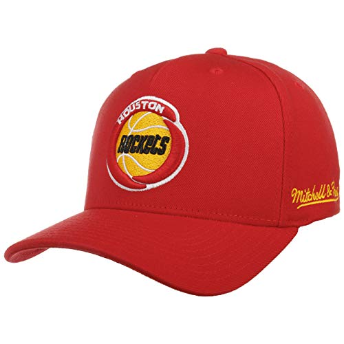 Mitchell & Ness Gorra Redline Dropback Rockets& de Beisbol Baseball (Talla única - Rojo)