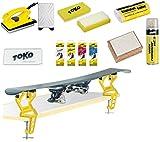 Toko Skiwachs-Set 11-teilig mit Wachsbügeleisen und Skispanner