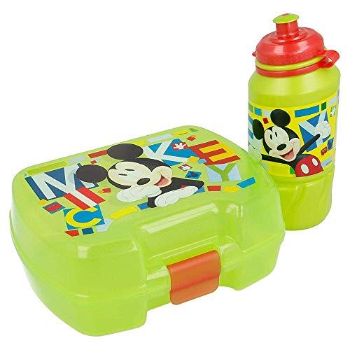 Disney - 44267. Boîte à Lunch et Bouteille. Concevez Mickey Mouse.