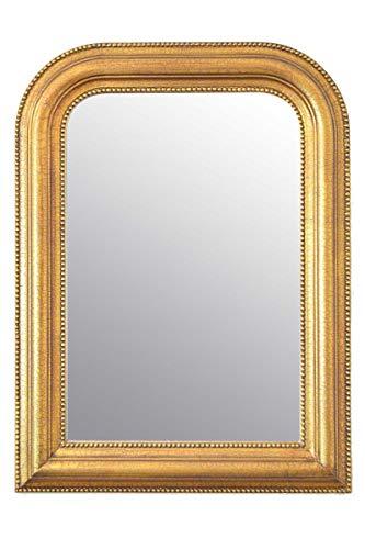 Espejo de Pared Grande Dorado sobre Manto (80 x 60 cm)