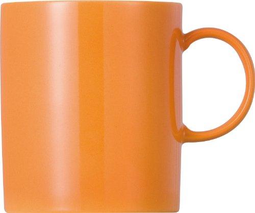 Thomas Sunny Day Orange Becher 0,30ltr. Becher mit Henkel, Henkelbecher