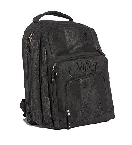 Sullen Men's Blaq Paq Onyx Backpack Bag Black