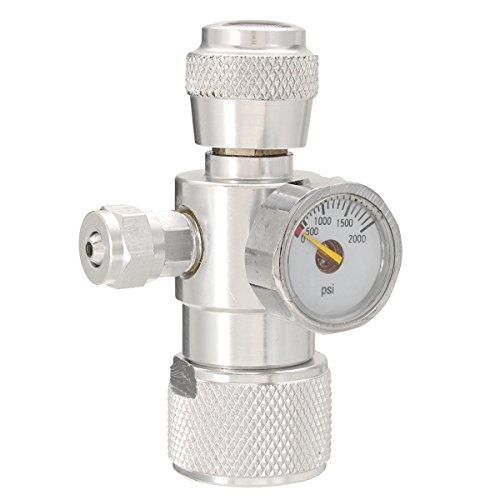 SGerste CO2 - Regulador de presión para Plantas de Musgo, Peces, acuarios, Equipo de manómetro