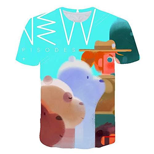 SSBZYES Camiseta De Verano para Hombre Camiseta De Talla Grande para Hombre Camiseta De Pareja Camiseta con Estampado De Dibujos Animados Camiseta De Manga Corta De Talla Grande para Hombre
