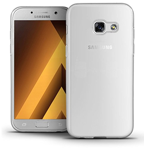 TBOC® Funda de Gel TPU Transparente para Samsung Galaxy A5 (2017) A520F (5.2 Pulgadas) de Silicona Ultrafina y Flexible
