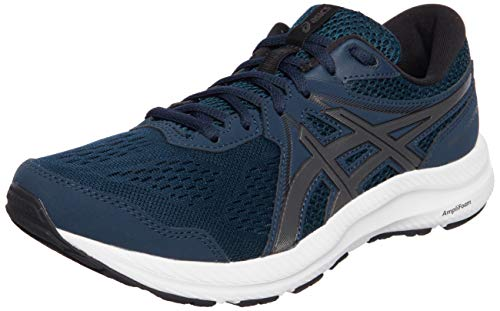 ASICS Herren Gel-Contend 7 Road Running Shoe, French Blue/Gunmetal, 45 EU