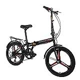 TANGNADE 20Inch 7 Speed  Urban Commuter Bike for Women Men, Leisure City Bicycle, Folding...