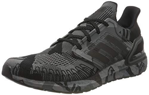 adidas Ultraboost 20, Zapatillas de Running Hombre, Cblack Grefou, 43 1/3 EU