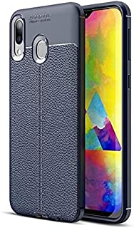 Samsung Galaxy A30 Soft TPU Back Cover Auto Focus For Samsung Galaxy A30 , Blue