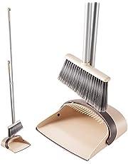 Eyliden. ほうき ちりとり 掃除セット 自立式 収納に便利 掃除道具 長柄 長さ調整可 94cm-135cm 室内 玄関 ホーム 美容室 ショップ最適
