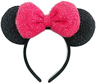 MeeTHan Mouse Ears Headband Sparking : M7 (MCB-Pink2)