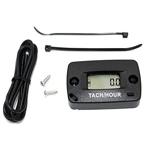 P SeekPro Chainsaw ATV Motorcycle Wireless Tachometer Hour Meter 3 in 1 for Stihl, Husqvarna, Echo,Homelite,Shindaiwa,Two Four Strokes Engine Wireless P3-1M EDT9