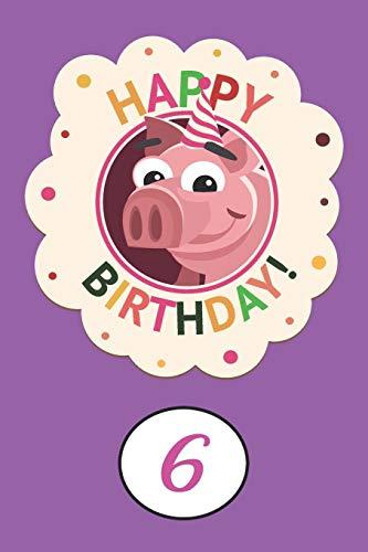 Alles Gute zum 6. Geburtstag: Gästebuch für Kindergeburtstag | Geschenkidee | Für Wünsche,...