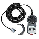 Controlador de volante electrónico, material ABS DC5V +/- 5 % Volante CNC de 4 ejes, para...