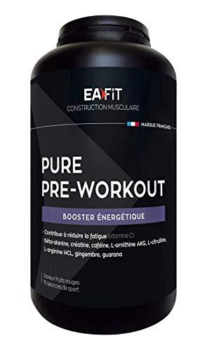 EAFIT Pure Pre Workout 'Booster énergétique 330 g