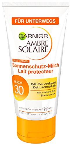 Garnier Ambre Solaire Crema solare/idratante protezione solare Latte/SPF 30, confezione da–6X 50ML