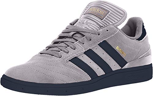 adidas Originals Mens Busenitz, Light Granite/Collegiate Navy/Collegiate Navy, 4.5 M US