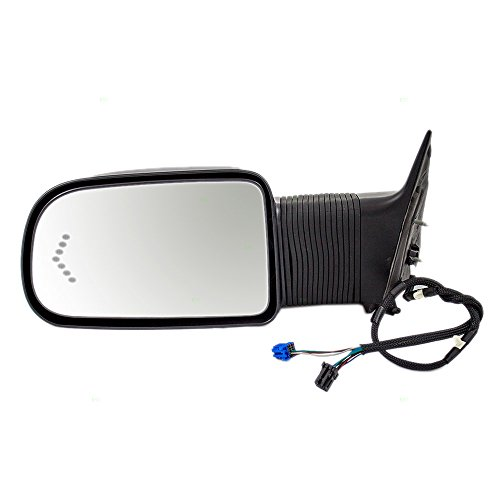 Great Deal! Replacement Driver Power Extending Towing Door Mirror Heated Signal in Glass Compatible ...