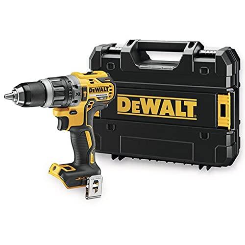 DEWALT DCD796NT-XJ - Taladro percutor sin escobillas XR 18V de 70 Nm, sin cargador/batería con maletín TSTAK