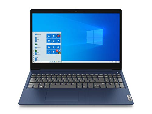 2020 Lenovo IdeaPad 3 15.6' Full HD IPS LED Laptop PC, AMD Ryzen 5 3500U Quad-Core Processor, 8GB DDR4 RAM, 256GB SSD, Vega 8 Graphics, HDMI, Webcam, 802.11ac, Windows 10 Home, Abyss Blue