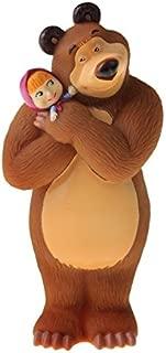 Masha and the Bear - Bath Toys Masha - Russian Doll Cartoon Mishka Toy - 5,5 inch 14 cm