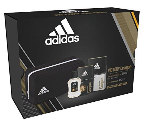 Confezione regalo Adidas victory league  edt 50ml + as 100ml + toiletry small