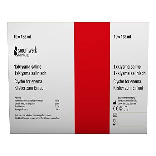 Klysma 1 x salinisch, 10X135 ml