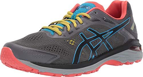 ASICS Men's GT-2000 7 Trail Running Shoes, 11M, Dark Grey/Black