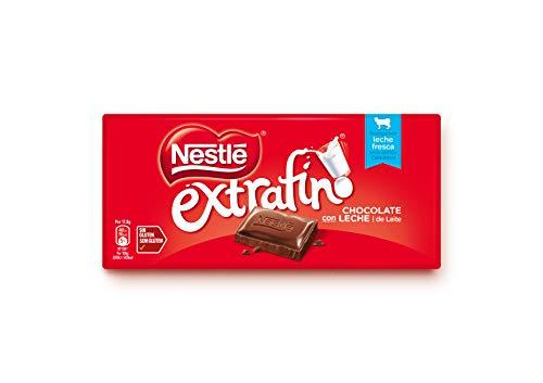 Nestlé Extrafino Chocolate con Leche, 125g