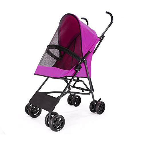 Carrozza Reissysteem babywagen, draagbaar, 4 wielen, kinderwagen in de openlucht, voor huisdieren, opvouwbaar, voor puppy's