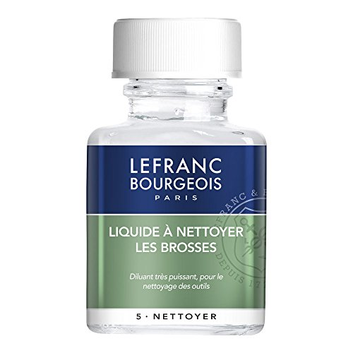 Lefranc Bourgeois Additif Liquide A Nettoyer Les Brosses Flacon 75 ml