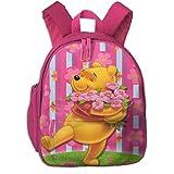 ZhangYu Winnie The Pooh Zaini scuola per ragazze Ragazzi Bambini Borse scuola elementare Bookbag Outdoor Travel Daypack