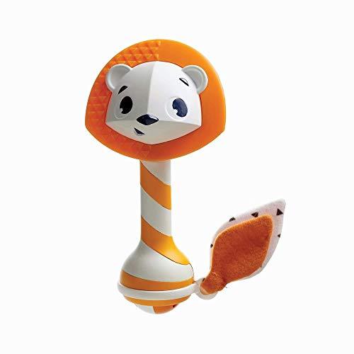 Tiny Love Sonajero mordedor bebé, multiactivitade, adecuado para la dentición, Fácil de agarrar, sin BPA, color Amarillo (3333111581)